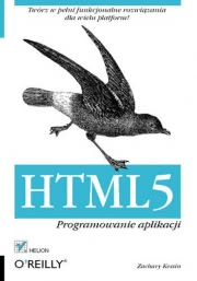 Ok�adka - HTML5. Programowanie aplikacji