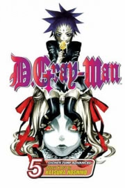 Ok�adka - D.Gray-man tom 5