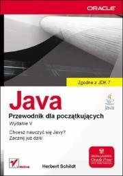 Ok�adka - Java. Przewodnik dla pocz�tkuj�cych