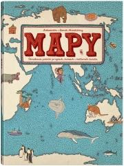 Ok�adka - Mapy. Obrazkowa podr� po l�dach, morzach i kulturach �wiata
