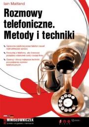 Ok�adka - Rozmowy telefoniczne. Metody i techniki