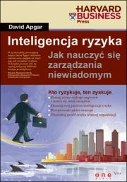 Ok�adka - Inteligencja ryzyka. Jak nauczy� si� zarz�dzania niewiadomym