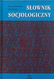 Ok�adka - S�ownik socjologiczny