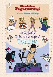 Okładka - Przygody Baltazara Gąbki