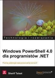 Ok�adka - Windows PowerShell 4.0 dla programist�w .NET