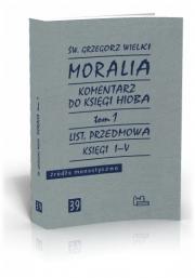Ok�adka - Moralia t. 1