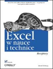 Ok�adka - Excel w nauce i technice. Receptury