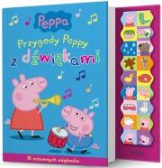 Okładka - Świnka Peppa. Przygody Peppy z dźwiękami