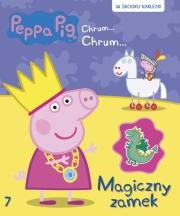Ok�adka -  �winka Peppa. Chrum Chrum. Tom 7. Magiczny zamek