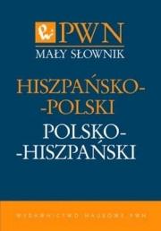 Ok�adka - Ma�y s�ownik hiszpa�sko-polski polsko-hiszpa�ski