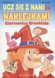 Ok�adka - Czarownica Grunhilda. Ucz si� z nami naklejkami 24