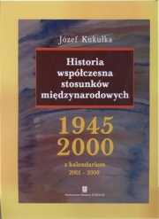 Ok�adka - Historia wsp�czesna stosunk�w mi�dzynarodowych 1945-2000