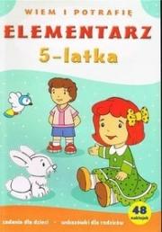 Ok�adka - Elementarz 5-latka