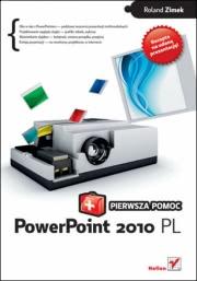 Ok�adka - PowerPoint 2010 PL. Pierwsza pomoc