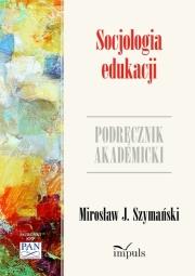 Ok�adka - Socjologia edukacji. Podr�cznik akademicki