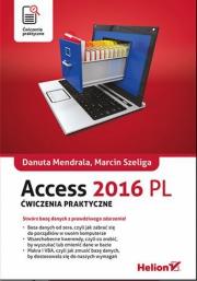 Ok�adka - Access 2016 PL. �wiczenia praktyczne