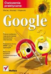 Ok�adka - Google. �wiczenia praktyczne