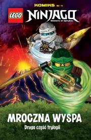 Okładka - LEGO Ninjago Komiks. Tom 11. Mroczna wyspa. Druga część trylogii
