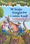 Okładka - Magiczny domek na drzewie - część 20. W kraju kangurów i misia koali