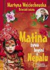 Okładka książki - Matina, żywa bogini z Nepalu