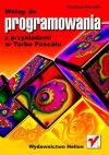 Okładka książki - Wstęp do programowania z przykładami w Turbo Pascalu