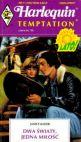 Okładka książki - Dwa światy, jedna miłość