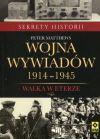 Okładka książki - Wojna wywiadów 1914-1945. Walka w eterze