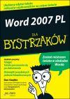 Okładka książki - Word 2007 PL dla bystrzaków