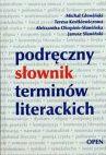 Okładka - Podręczny słownik terminów literackich