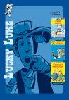 Okładka książki - Lucky Luke - W górę Missisipi, Na tropie Daltonów, W cieniu wież wiertniczych