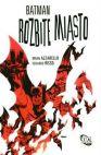 Okładka ksiązki - Batman. Rozbite miasto