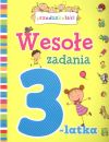 Okładka ksiązki - Wesołe zadania 3 latka