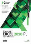Okładka książki - Microsoft Excel 2010 PL. Język VBA i makra. Akademia Excela