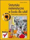 Okładka ksiązki - Statystyka matematyczna w Excelu dla szkół