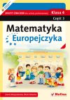 Okładka ksiązki - Matematyka Europejczyka. Zeszyt ćwiczeń dla szkoły podstawowej. Klasa 4. Część 3