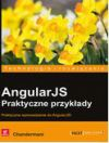 Ok�adka - AngularJS. Praktyczne przyk�ady