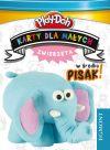 Okładka ksiązki - Play Doh. Karty. Zwierzęta