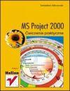 Okładka - MS Project 2000 Ćwiczenia praktyczne