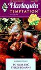 Okładka książki - To miał być tylko romans