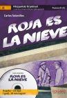 Okładka książki -  Hiszpański Samouczek z kryminałem Roja es la nieve. Audiobook