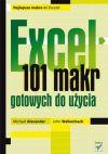 Okładka - Excel. 101 makr gotowych do użycia