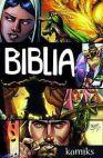 Okładka książki - Biblia - komiks. Boża historia odkupienia