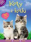 Okładka - Koty i kotki. Książka z plakatami