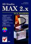Okładka książki - 3D Studio MAX 2.x dla każdego