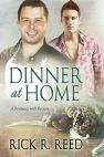 Okładka książki - Dinner at Home