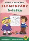 Ok�adka - Elementarz 6-latka
