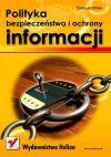 Okładka książki - Polityka bezpieczeństwa i ochrony informacji