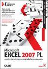 Okładka książki - Microsoft Excel 2007 PL. Analiza danych za pomocą tabel przestawnych. Akademia Excela