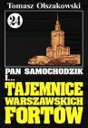 Okładka ksiązki - Pan Samochodzik i tajemnice warszawskich fortów t.24