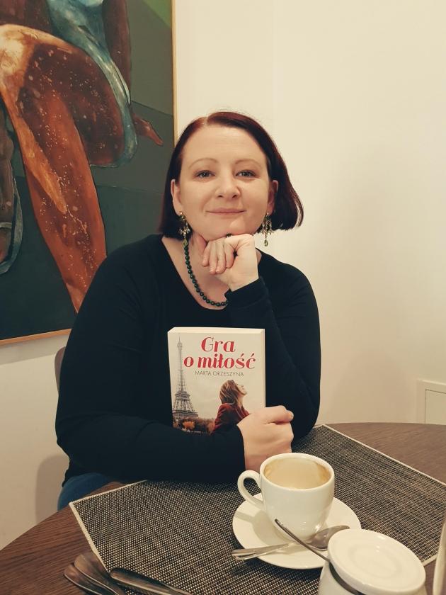 Publicystyka - Kawa, croissanty i... piłka. Wywiad z Martą Orzeszyną